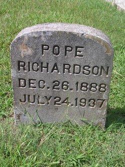Pope Richardson