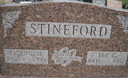 Pauline Hazel <I>Carter</I> Stineford