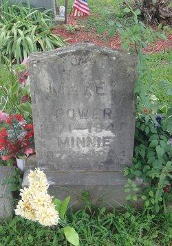 Minnie <I>Royse</I> Maxey