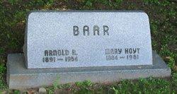 Judge Arnold R. Baar