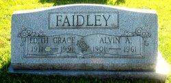 Edith Grace <I>Pletcher</I> Faidley