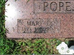 Mary D. Popejoy