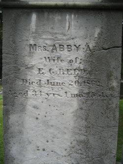 Abby A <I>Blanchard</I> Reed