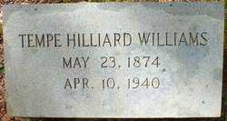 Tempe Hilliard Williams