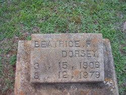 Beatrice F Dorsey