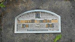 Marie <I>Halverson Gjegstad</I> Nelson