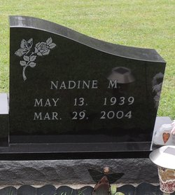 Nadine M <I>Lopeman</I> Tucker