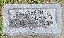 Elizabeth Jane <I>Belding</I> Cleveland