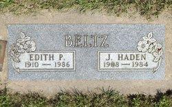 Edith Pauline <I>Hamilton</I> Beltz