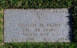 William M Fazio