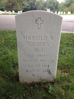 Harold R Geddes