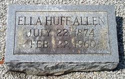 Ella Cora <I>Huff</I> Allen