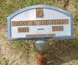 Alice Delcine <I>Duncklee</I> Browning