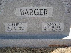 Sallie <I>Huey</I> Barger