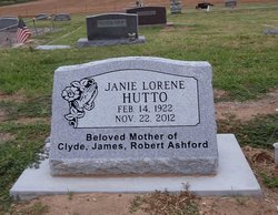 Janie Lorene <I>Dye</I> Hutto