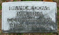 """David Edgar """"Buddy"""" Milling"""