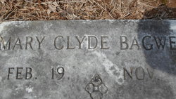 Mary Clyde <I>Mitchell</I> Bagwell