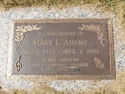 Mary Louise <I>Gregory</I> Adams