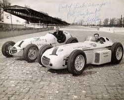 May 1956 Sweikerts Last Indianapolis 500 Race Sweikert Began In The 10t More