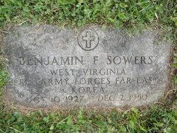 PFC Benjamin F Sowers