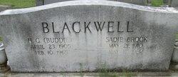 Sadie <I>Brock</I> Blackwell
