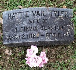Hattie Vail <I>Tyler</I> Blanton