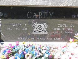 Cecil Dean Carey
