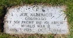"Pvt Joseph ""Joe"" Alberico"