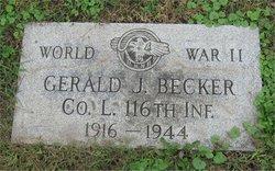 PFC Gerald J Becker