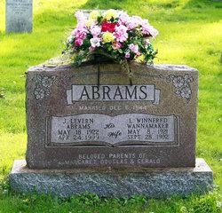 L Winnfred <I>Wannamaker</I> Abrams