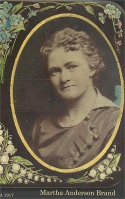 Martha M <I>Anderson</I> Brandt