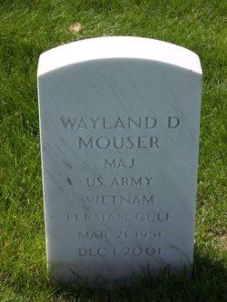 "MAJ Wayland Dean ""Woody"" Mouser (1951-2001) - Find A Grave Memorial"