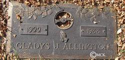 Gladys M. <I>Johnson</I> Allington