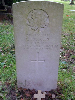 Corp Ernest Boecklen