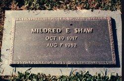 Mildred Edna <I>Sutphin</I> Shaw
