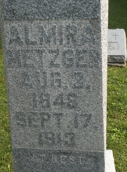 Mary Almira <I>Snider</I> Metzger