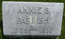 "Anna Spears ""Annie"" <I>Taylor</I> Parrish"
