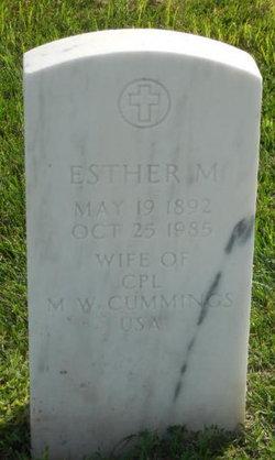 Esther M Cummings