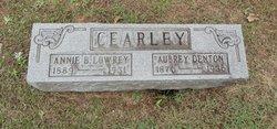 Annie B. <I>Lowrey</I> Cearley