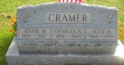 Alice H <I>Hostetler</I> Cramer