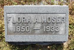 Flora Ann <I>Brigham</I> Moser