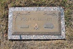 Posey A. Bennett