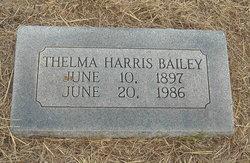Thelma <I>Harris</I> Bailey