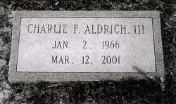 Charlie Franklin Aldrich, III