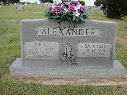 Opal Obine <I>Holaway</I> Alexander