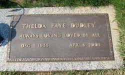 Thelda Faye <I>Parmenter</I> Dudley