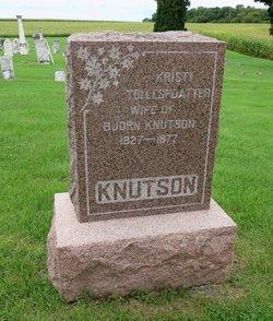Kristi <I>Tollesfdatter</I> Knutson