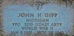 PFC John H Gipp