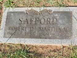 Martha Washington <I>Van Houten</I> Safford