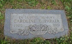 Caroline Grace <I>Myers</I> Parker